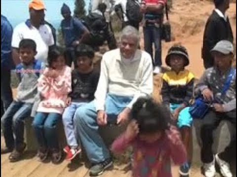 PM Ranil Wickramasinghe visits World's End