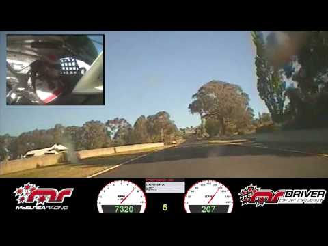 McElrea Racing - Warren Luff Race 2 Bathurst 2013