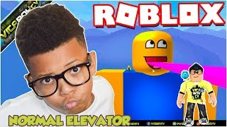 WACKIEST NORMAL ELEVATOR RIDE EVER in ROBLOX