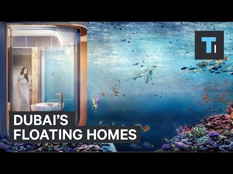 Dubai's floating homes