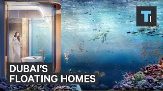 Dubai's floating homes