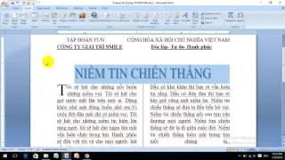 Trương Thị Sương-15CNQTH02- bài tập thực hành word