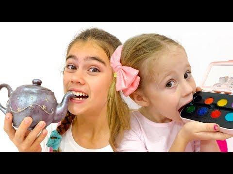 Stacy y sus amigos organizaron un desafío de chocolate
