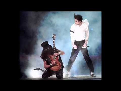 Michael Jackson & Slash MTV Music Awards 1995 Perfect Live Studio