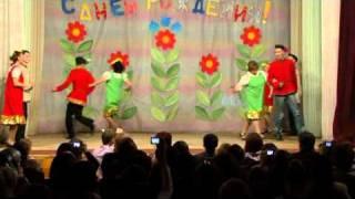 Танец «Кадриль» (10К и учителя школы)