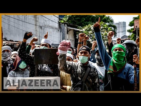 🇮🇩 Deadly protests continue in Indonesia after Jokowi's election win | Al Jazeera English