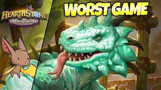 The Worst Best Battlegrounds Game Ever | Firebat Hearthstone Battlegrounds