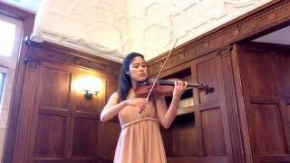 """Haydn: """"Surprise"""" Symphony - """"Andante"""" for solo violin"""