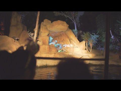 Jungle Cruise (Night) at Disneyland