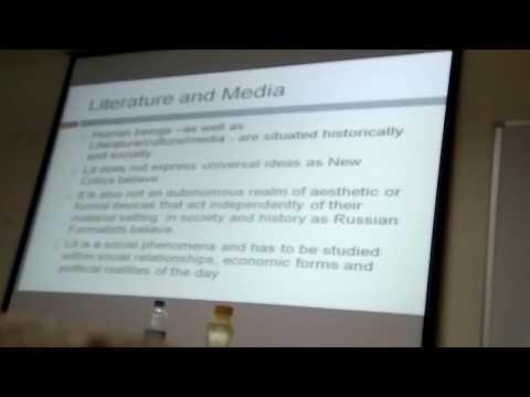 Marxist Literature and Media  By Professor (Dr) Rashmi Gaur, IIT (R)
