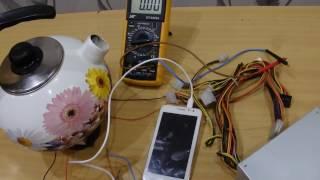 DC DC преобразователь повышающий + элемент пельтье. Зарядка телефона.