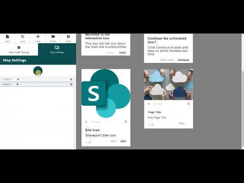 SharePoint Page Guide | Create interactive Page Guides for