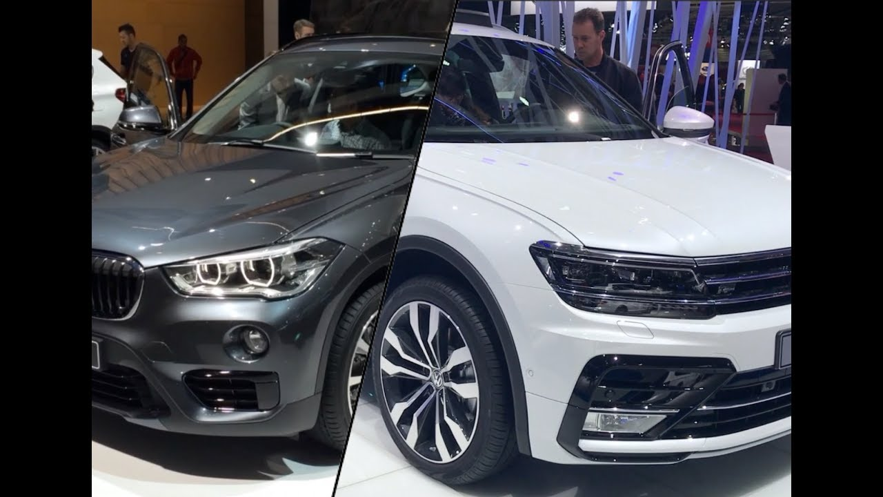BMW X1 vs Volkswagen Tiguan - YouTube