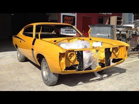 1971 Chrysler Valiant VH Charger 'double-barrel' R/T 265 Frame-off Restoration Project