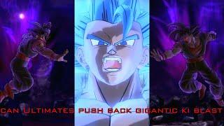 Dragon Ball Xenoverse 2  Can Ultimates push back Gigantic ki Blast