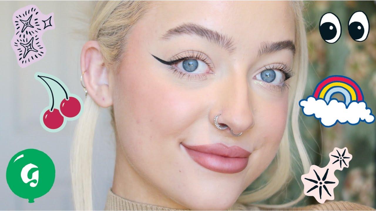 glossier makeup review ft cloud paint boy brow generation g