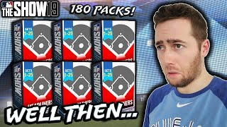I SPENT ALL OF MY STUBS ON PACKS...MLB THE SHOW 19 DIAMOND DYNASTY
