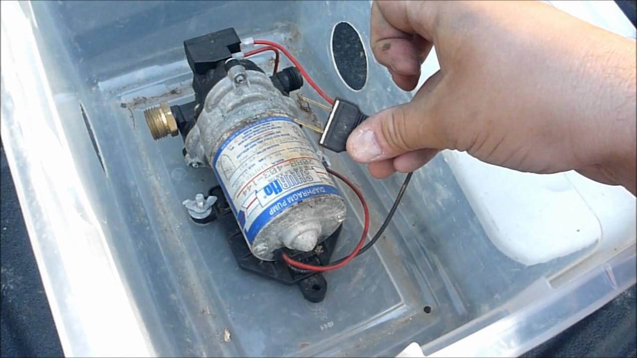 Water Pump For Camping Youtube Wiring Diagram Pressure Switch