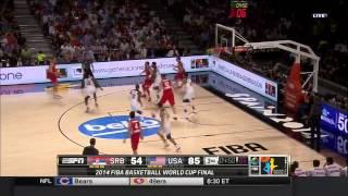 Bogdan Bogdanovic vs USA 2014.09.14 (FIBA Basketball World Cup 2014)