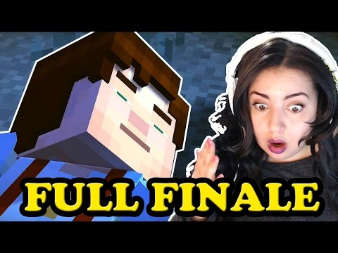 [FULL EPISODE] Minecraft Story Mode Episode 8 Full Episode - A JOURNEY'S END? Series finale!