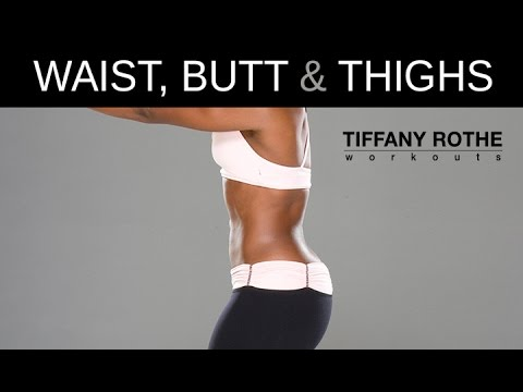 Small Waist, Tight Butt, Thin Thighs In Under 10 Min | TiffanyRotheWorkouts