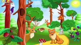 Мультик про животных. Учим диких животных. Дикие животные. Звуки животных