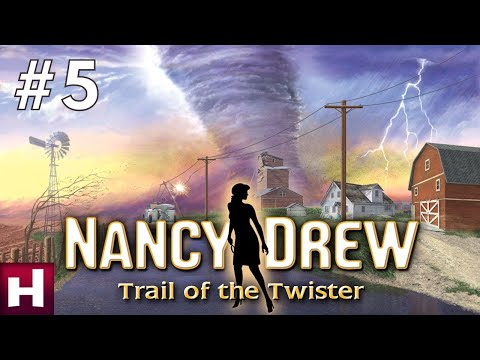 Nancy Drew Trail of the Twister Walkthrough No Commentary Part 5  