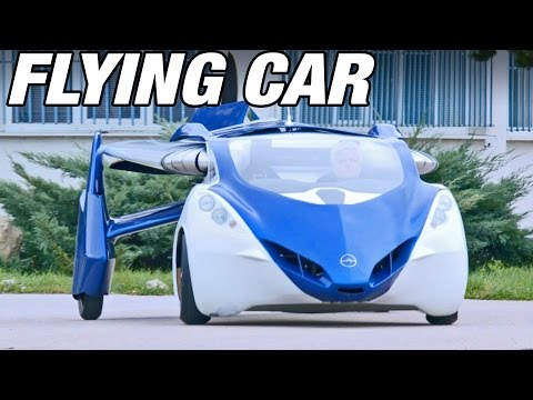 ► Flying Car - AeroMobil 3.0 demonstration