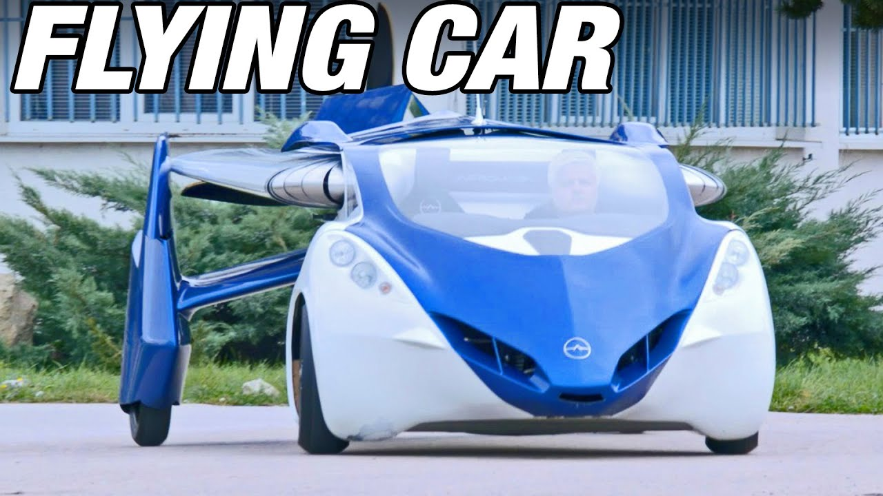 Flying Car AeroMobil Demonstration YouTube - Cool cars preston highway