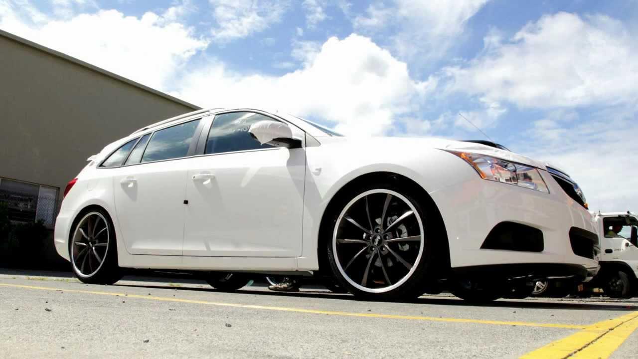 Chevy Cruze Custom >> 2013 Holden Cruze Wagon rolling 20 inch Advanti Kaos wheels - YouTube
