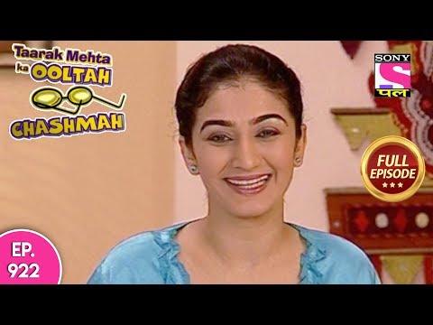 Taarak Mehta Ka Ooltah Chashmah - Full Episode  922 - 25th January, 2018