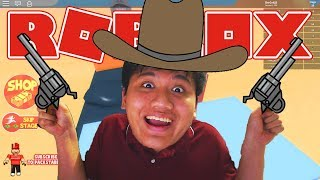 Ohh here anyway LIVING a cowboy-Roblox Indonesia