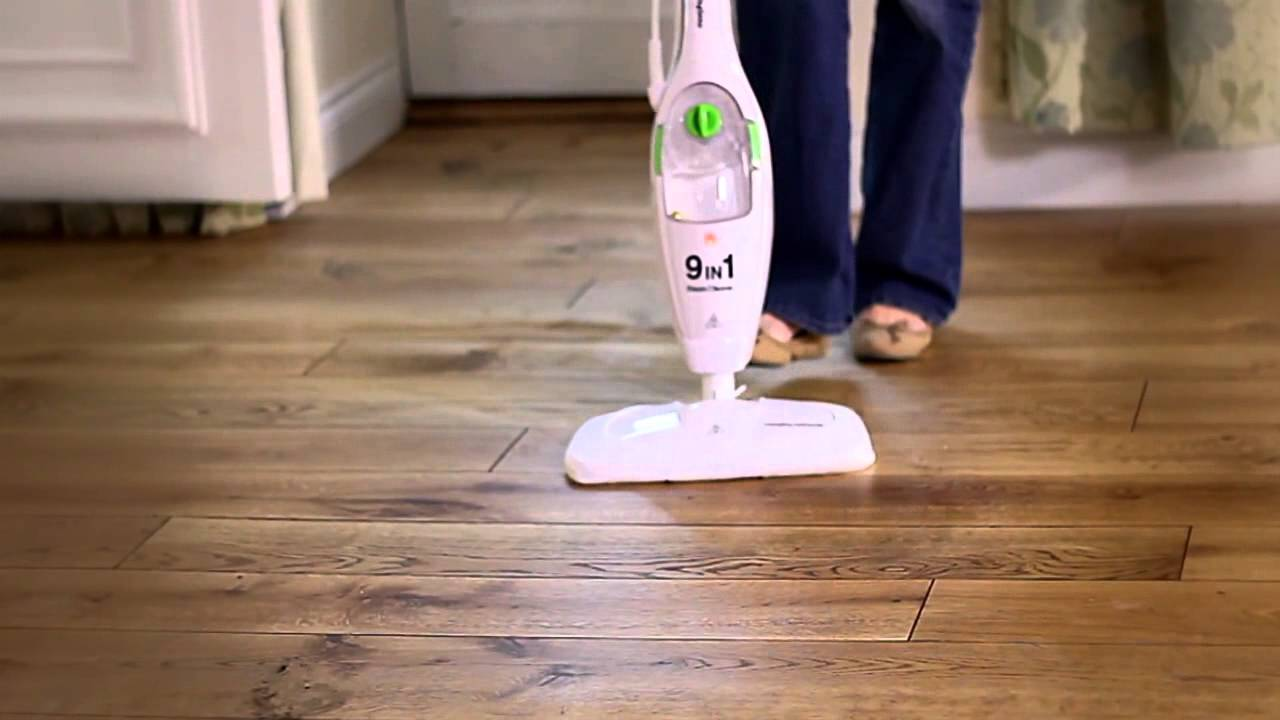 Morphy Richards 9 in 1 Steam Mop from The Original Factory Shop - YouTube