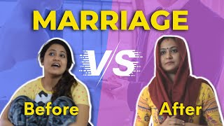 Life of Married girl - Before Vs After | Captain Nick