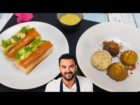 tous-en-cuisine-#68-:-je-teste-les-crevettes-sandwich-roll-et-les-figues-rÔties-de-cyril-lignac-!