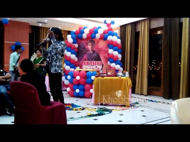 birthday party 11th & magic show khoobsuratdecoration