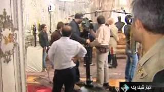 Behind the scenes of production of Iranian TV serial