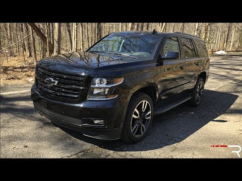 2018 Chevy Tahoe RST – Is This Really a Tahoe SS?
