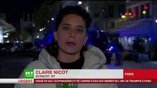 Acte 18 : un véhicule de police incendié en plein cœur de Paris thumbnail