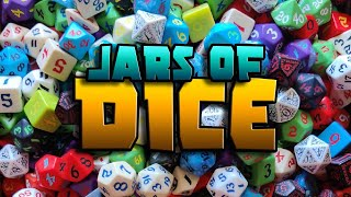 Hidden Gems in the Jars of Classic RPG Dice from Q Workshop! Also enter for our GIVEAWAY!