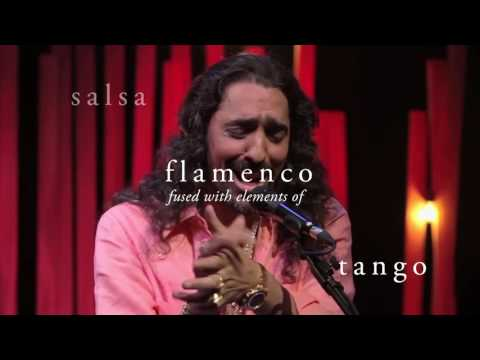 Flamenco singer Diego el Cigala live in Boston 10/21/16