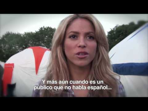 Shakira.com Glastonbury interview