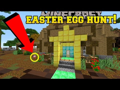 Minecraft: EASTER EGG HUNT!!! - Custom Map - Видео из Майнкрафт (Minecraft)