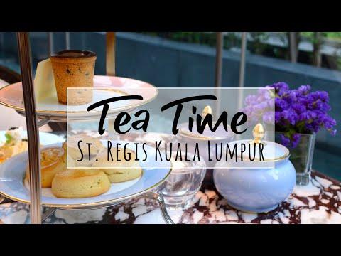 Kuala Lumpur | Afternoon Tea at St. Regis | Malaysia Luxury Travel Food Blog