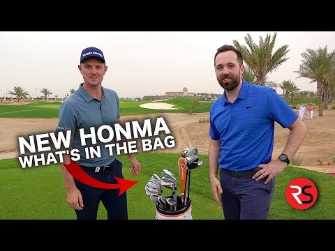 JUSTIN ROSE - HONMA WHAT'S IN THE BAG 2019