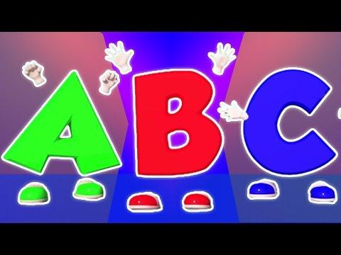 ABC lagu | abc lagu dalam Bahasa Inggeris | English Rhyme | ABC Song
