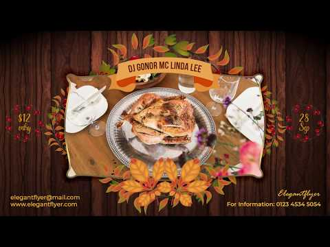 Thanksgiving Day – Free Animated Instagram Stories + Instagram Post + Facebook Cover
