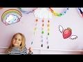 Поделки - Как сделать Радуга Дождик из бумаги Радужный дождик Мастер класс Детские поделки Детям | Златуня