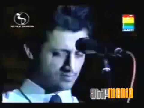 AADAT   Atif Aslam  first performance stage