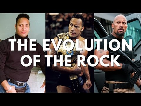 """Evolution Of Dwayne """"The Rock"""" Johnson (thru The Fate Of The Furious & Baywatch)"""